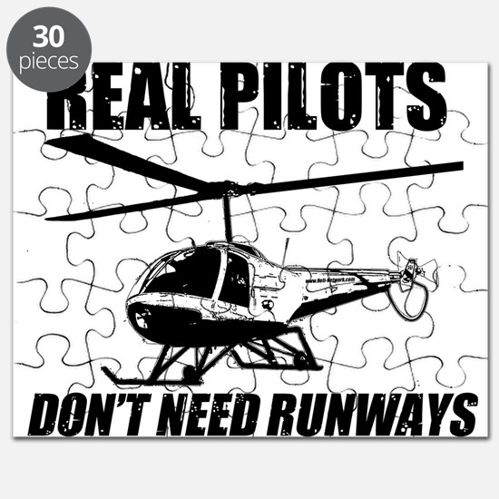 Real Pilots Dont Need Runways - Enstrom Puzzle