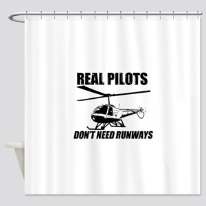 Real Pilots Dont Need Runways - Enstrom Shower Cur