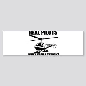 Real Pilots Dont Need Runways - Enstrom Bumper Sti