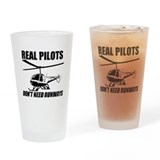 Enstrom helicopter Drinking Glass