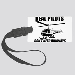 Real Pilots Dont Need Runways - Enstrom Luggage Ta