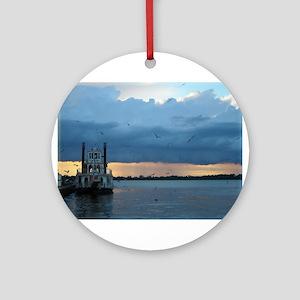 Dobbins Landing, Erie, PA Ornament (Round)