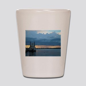 Dobbins Landing, Erie, PA Shot Glass