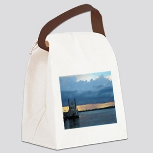 Dobbins Landing, Erie, PA Canvas Lunch Bag