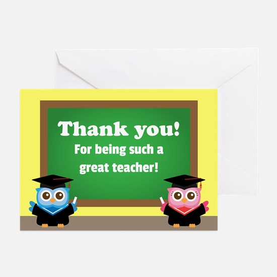 Thank You, Teacher Appreciation, Graduation Owls G