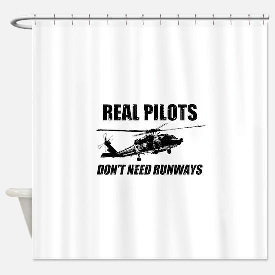 Real Pilots Dont Need Runways - Blackhawk Shower C
