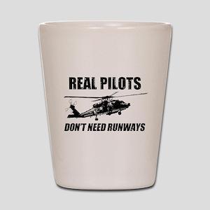 Real Pilots Dont Need Runways - Blackhawk Shot Gla
