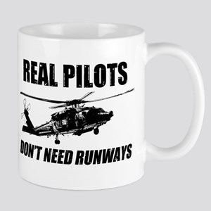 Real Pilots Dont Need Runways - Blackhawk Mugs