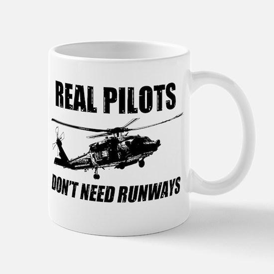 Real Pilots Dont Need Runways - Blackhawk Mugs