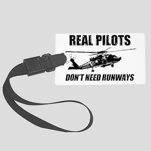 Real Pilots Dont Need Runways - Blackhawk Luggage