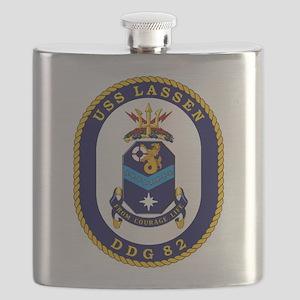 USS Lassen DDG-82 Flask