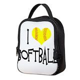Fastpitch softball pitcher Neoprene Lunch Bag