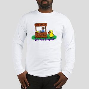 Duck  Man Long Sleeve T-Shirt