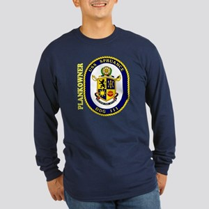 Plankowner DDG 111 Long Sleeve Dark T-Shirt