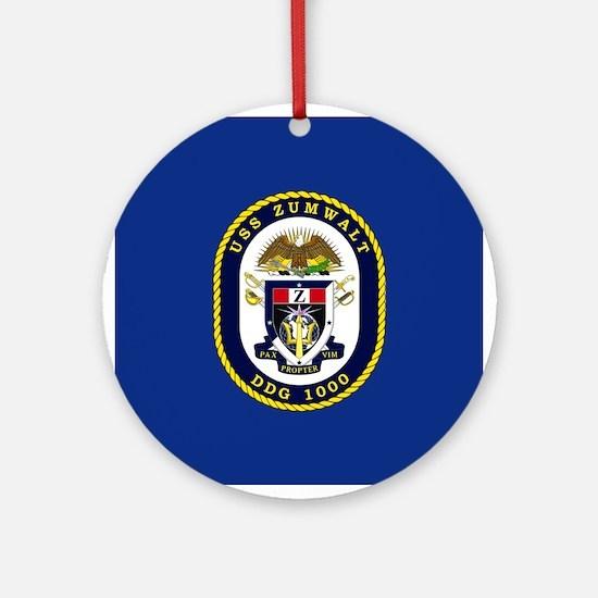 USS Murphy DDG 112 Ornament (Round)