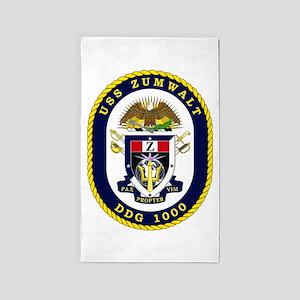 USS Zumwalt DDG 1000 3'x5' Area Rug