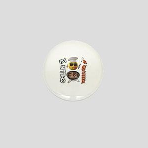 Chillin & Grillin-Design 2 Mini Button