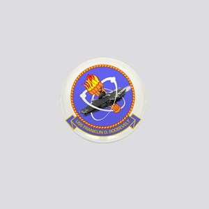 Uss Franklin D. Roosevelt Cvb-42 Mini Button