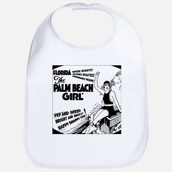 Vintage Florida Ad - Palm Beach Bib