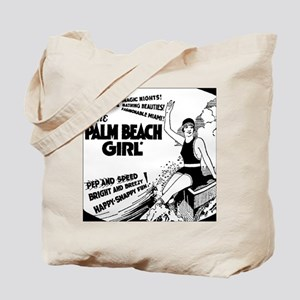 Vintage Florida Ad - Palm Beach Tote Bag
