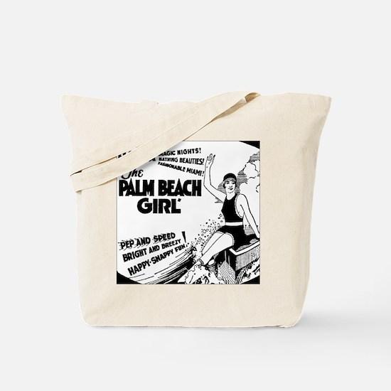 Vintage Florida Ad - Palm Beach Tote Bag