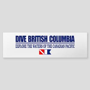 Dive British Columbia Bumper Sticker