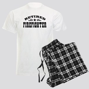 Retired Firefighter Men's Light Pajamas