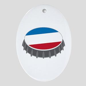 Bottle Cap Ornament (Oval)