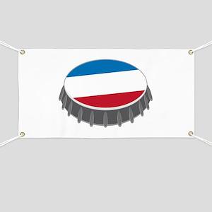 Bottle Cap Banner
