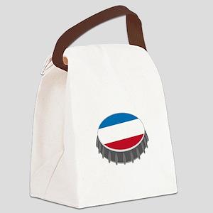 Bottle Cap Canvas Lunch Bag