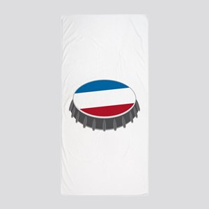 Bottle Cap Beach Towel