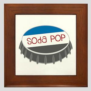 Soda Pop Framed Tile