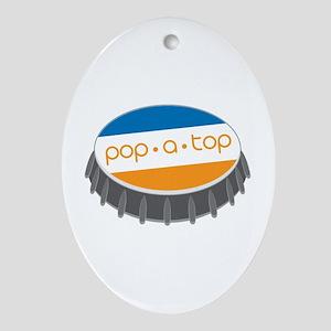 Pop.A.Top Ornament (Oval)