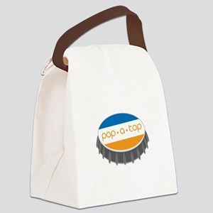 Pop.A.Top Canvas Lunch Bag