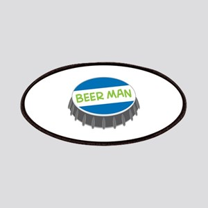 Beer Man Patches