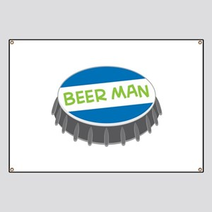 Beer Man Banner