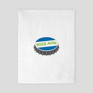 Beer Man Twin Duvet