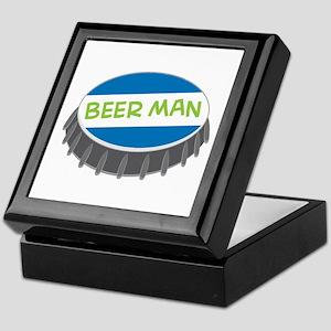 Beer Man Keepsake Box