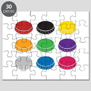 Bottle Caps Puzzle