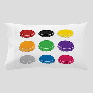 Bottle Caps Pillow Case