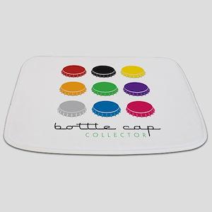 Bottle Cap Collector Bathmat