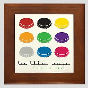 Bottle Cap Collector Framed Tile