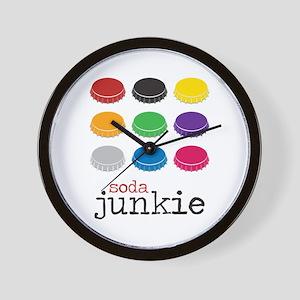 Soda Junkie Wall Clock