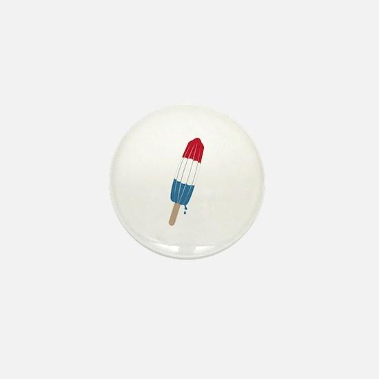 Popsicle Rocket Mini Button