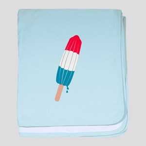 Popsicle Rocket baby blanket