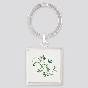 Green Leaves Keychains