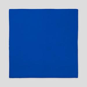 Solid Cobalt Blue Queen Duvet