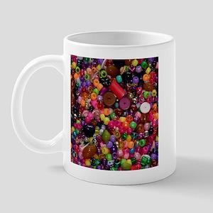 Colorful Beads - Crafty Mug