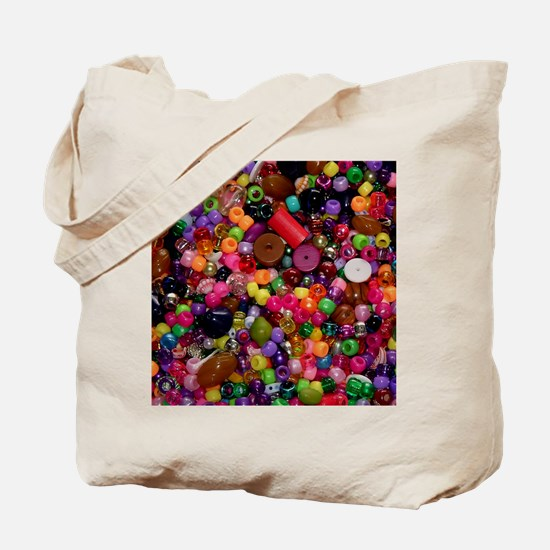 Colorful Beads - Crafty Tote Bag