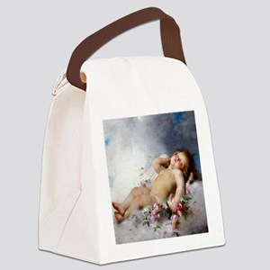 Sleeping Putto Canvas Lunch Bag